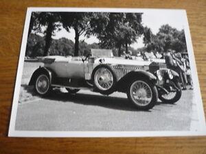 1914 Rolls Royce Silver Ghost Barker Historique De Presse Ou Publicité Photo-afficher Le Titre D'origine