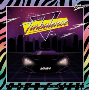 Details about LP Miami Nights 1984 – Turbulence RED VINYLsealed  2018numbered111copy SYNTHWAVE