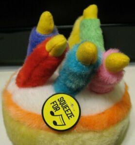 Fine Multipet Look Whos Talking Birthday Cake Dog Toy Plays Happy Funny Birthday Cards Online Alyptdamsfinfo