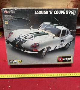 "Burago Metall Kit Jaguar ""E"" Coupe '1961 1:18 Neu Vintage"