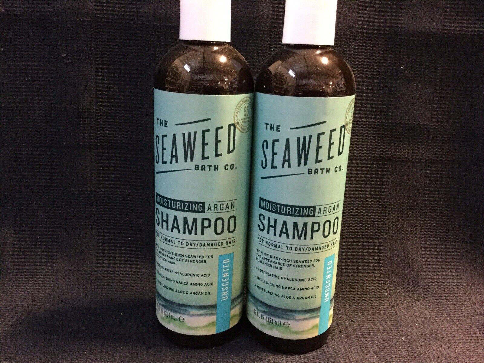 2 Pack The Seaweed Bath Co Shampoo Moisturizing Unscented 12 Fl Oz Ea 4e For Sale Online