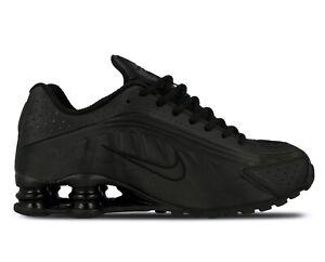 premium selection 10457 cef04 Image is loading Men-039-s-Nike-SHOX-R4-034-Triple-