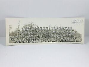 STUNNING-WW1-WW2-Doughboys-Camp-panoramic-photo-SIGNED-fort-sheridan