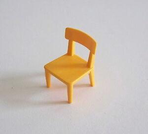 PLAYMOBIL (U1252) CIRQUE - Chaise Orange Numéro des Clowns Musiciens 4231