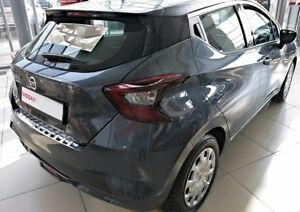 NISSAN-MICRA-from-2017-Loading-Area-Protector-Stainless-Steel-Satin-with-Splay