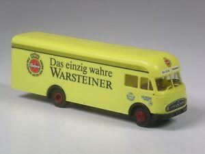 TOP-Brekina-Mercedes-LP-322-Warsteiner-Bier-in-OVP