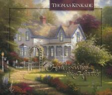 Thomas Kinkade's Lighted Path Collection: Home Is Where the Heart Is by Thomas Kinkade (1998, Hardcover)
