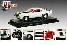 M2 MACHINES 1:24 DETROIT-MUSCLE 1969 CHEVROLET CAMARO Z/28 Diecast Car White