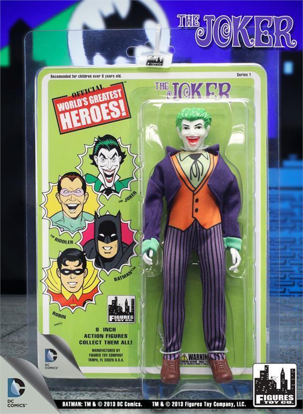 Worlds Greatest Retro   8 Inch Series 1 JOKER action figure  8