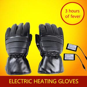 Sistemi-di-riscaldamento-del-Inverno-Guanti-Da-Moto-Impermeabile-Nero-Litio-Batteria-Guanti