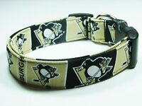 Charming Pittsburgh Penguins Hockey Dog Collar