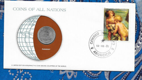Coins of All Nations Paraguay 50 Guaranies 1980 UNC