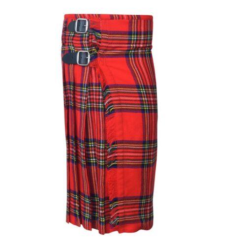 propre Royal Stewart Écossais Kilt Tartan Léger 5 Yard NEUF