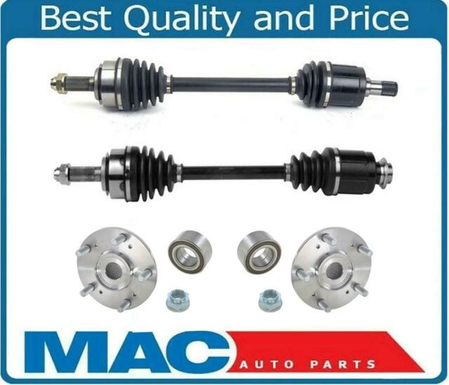 Front CV Axles & Wheel Hub Kit For Acura TL 3.2L Automatic