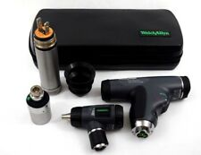 Welch Allyn 35v Diagnostic Set Panoptic Ophthalmoscope Macroview Otoscope Case