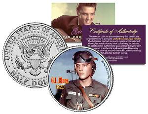 ELVIS-PRESLEY-MOVIE-GI-Blues-JFK-Kennedy-Half-Dollar-US-Coin-LICENSED