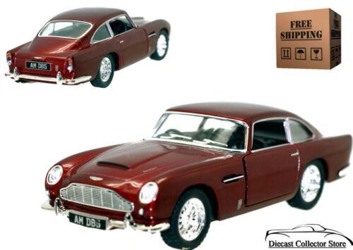 Aston Martin DB5 KINSMART Diecast 1:38 Red FREE SHIPPING