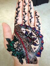 US SELLER -10 Multi Color Henna Tubes/Cone/Cones/Mehendi/Tattoo/BodyArt