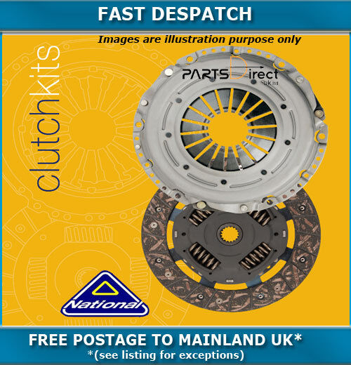CLUTCH KIT FOR VW POLO 1.2 01/2002 - 05/2007 3535