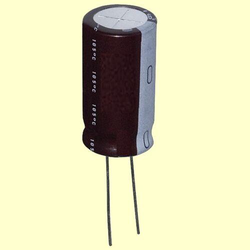 50 PCs SAMXON Capacitor 10uF 50V 5x11mm RM2 105 ° C NEW #BP