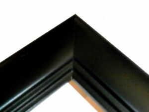 Studio-Black-2-Solid-Wood-Picture-Frames-Custom-Panoramic-Sizes
