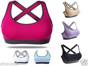 Sports Comfortable Seamless Comfort Leisure Yoga Stretch Comfy Bra Crop Top Vest