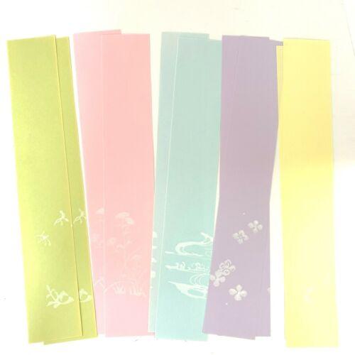 Tanzaku Colored Paper Sheets N47