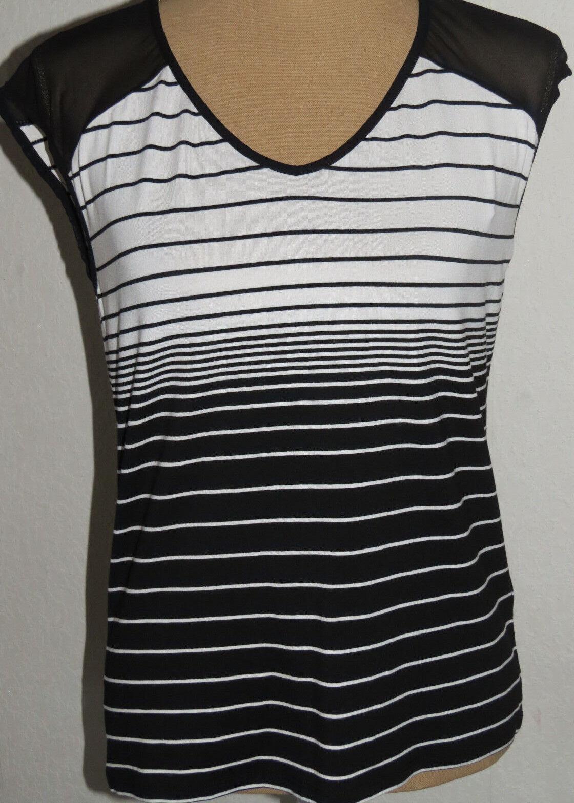 T-Shirt,MEXX, Gr. S schwarz-weiß   | Perfekt In Verarbeitung  | Die Königin Der Qualität  | Online Kaufen  | Reparieren  | Verkauf