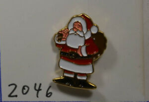 Lufthansa Weihnachtsmann Pin Badge 2,5 X 2 Cm an2046