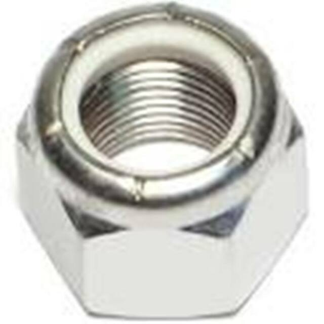 Stainless Steel Nylon Insert Lock Nut NC 3/8-16 QTY-25
