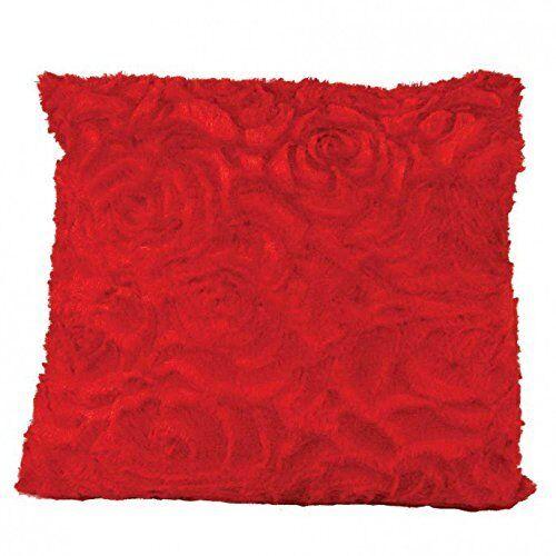 De luxe rose rouge rempli coussin 43CM x 43CM