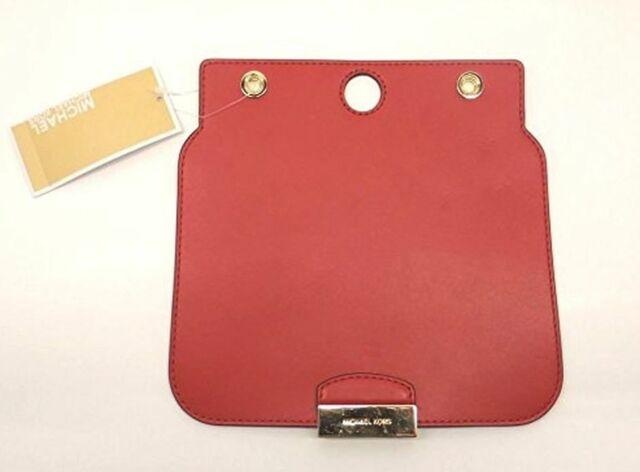 Michael Kors Studio Sloan Select Medium Shoulder Flap Bright Red Leather