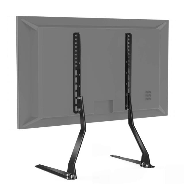 Perlesmith Universal Table Top Tv Stand For 37 70 Inch Flat Screen