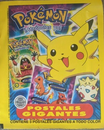 Details about  /RARE 2000 POKEMON POSTCARD PACK ARGENTINA CARD