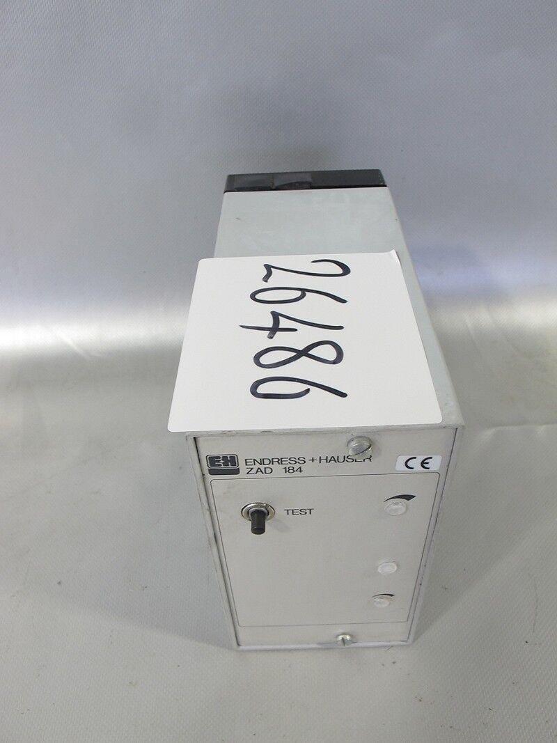 Endress+Hauser ZAD 184 Controller Kontroller Flowmeter