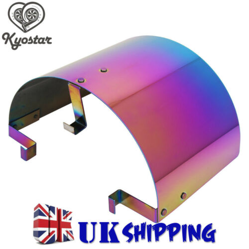 """2.5-3.5/"""" UNIVERSAL CONE STAINLESS STEEL HEAT SHIELD AIR INTAKE FILTER COVER NEW"""