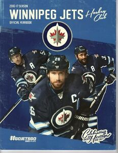 newest collection 60226 8a9ff Details about 2016 2017 WINNIPEG JETS YEARBOOK PROGRAM STANLEY CUP  CHAMPIONS? SCHEIFELE