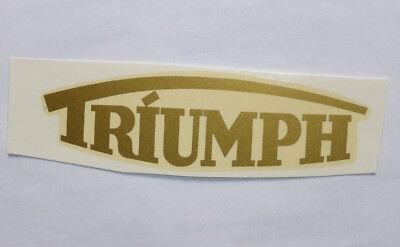 Triumph Scritta Decalcomania Ad Acqua Decalcomania 100x28 Mm Oro 00102t In Viaggio