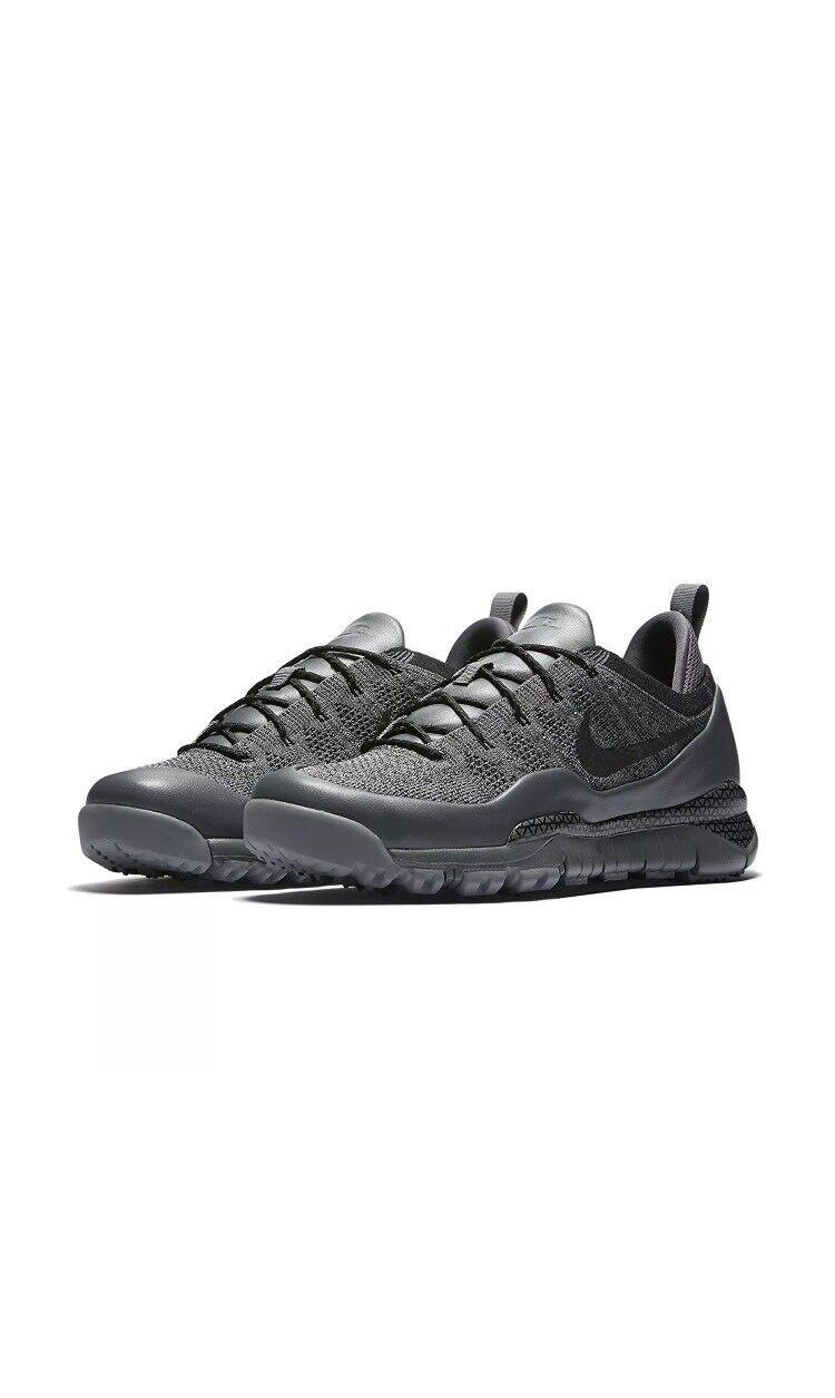 NIKE Men's Lupinek Flyknit Low Casual Shoe 882685 001 SIZE 10 retail 225 NEW