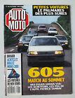 MAGAZINE - AUTO MOTO N° 86 - OCTOBRE 1989 *