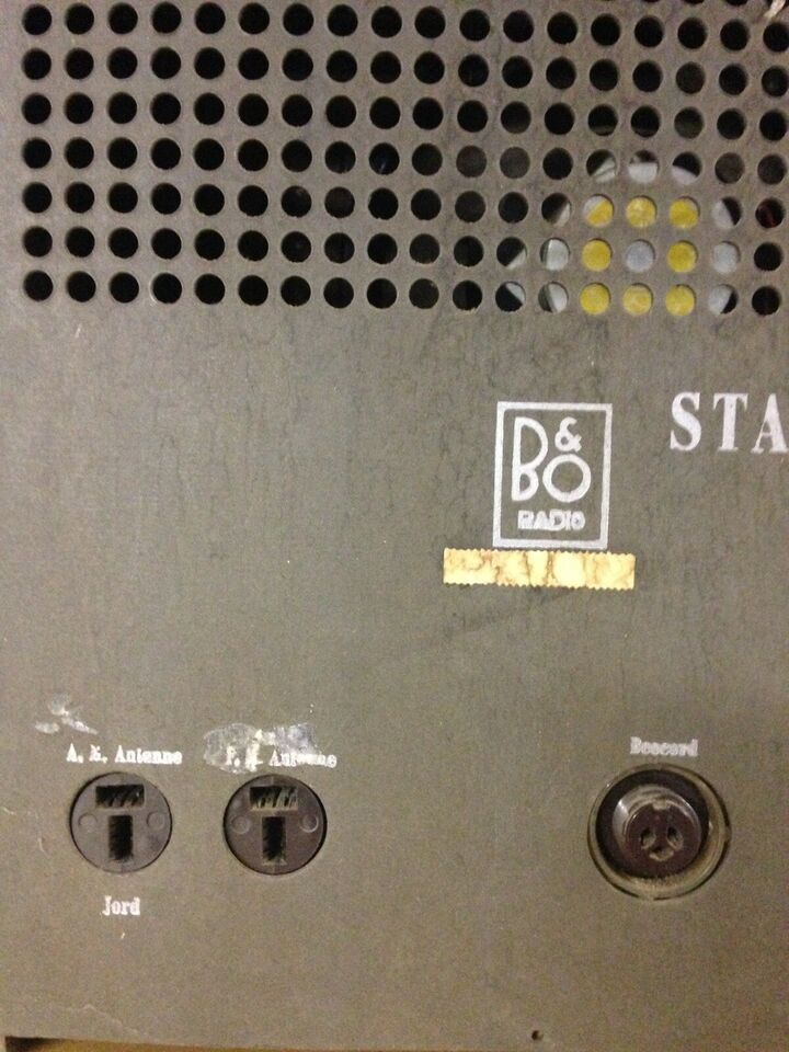 Rørradio, Bang & Olufsen, Standard 509 K