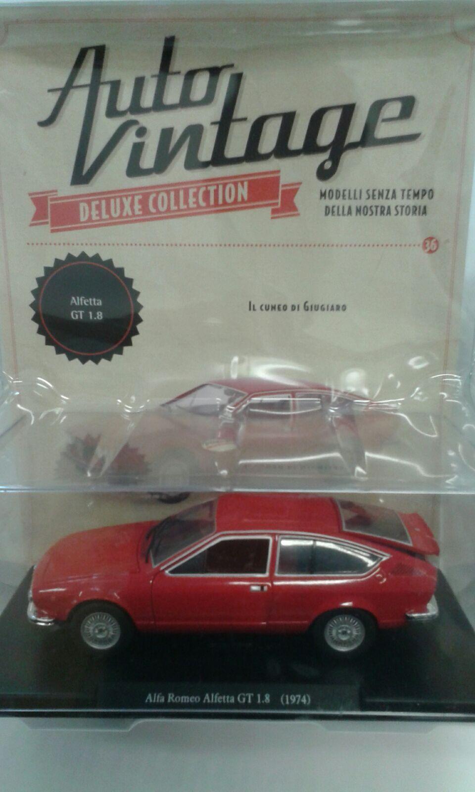 1 24 Auto Vintage Deluxe Alfetta GT 1.8