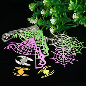 Spider-Web-Metal-Cutting-Die-Stencil-DIY-Scrapbook-Album-Paper-Card-Craft-3x
