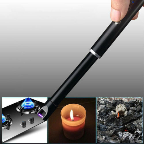 USB Rechargeable Candle Lighter Arc Lighter Windproof Electric Kitchen Lighter