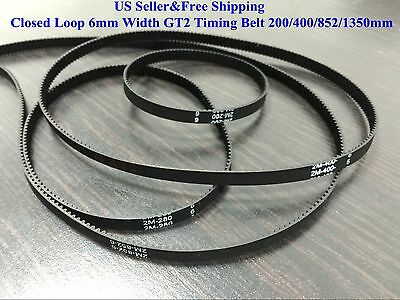 US Closed Loop 6mm Width GT2 Timing Belt For RepRap 3D printer Prusa Prusa CNC