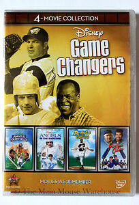 Angels-in-the-Outfield-Infield-Endzone-Perfect-Game-Disney-Sports-Movie-4-Pack