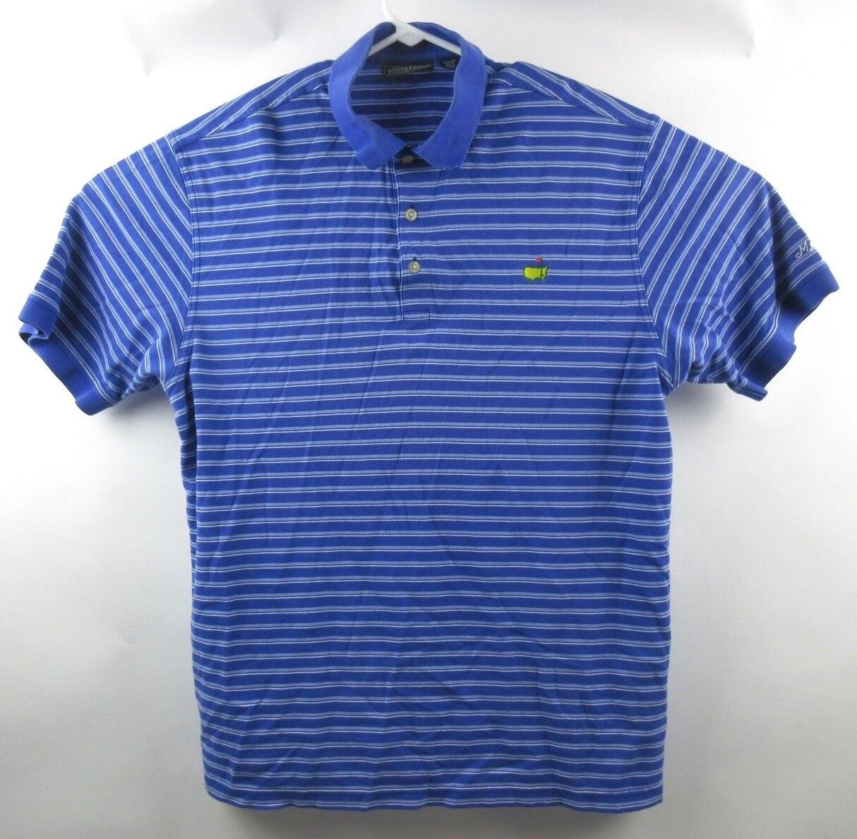 Masters Collection Polo Shirt Mens XL 60's Two Pl… - image 1