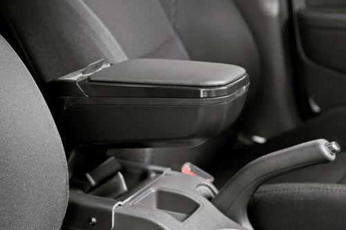 6//10/> Fiat Abarth 500C 7//08/> Armster 2 accoudoir sur mesure Noir Abarth 500