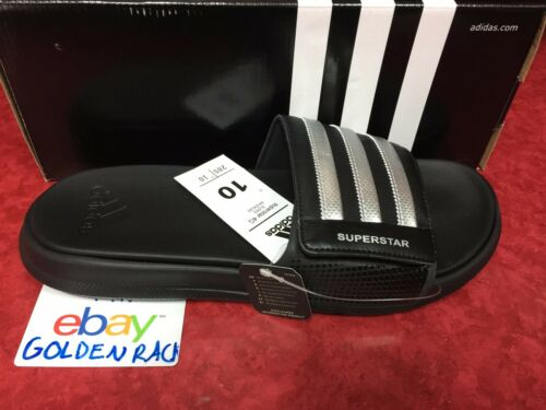Adidas Superstar 4G Men Black Slides