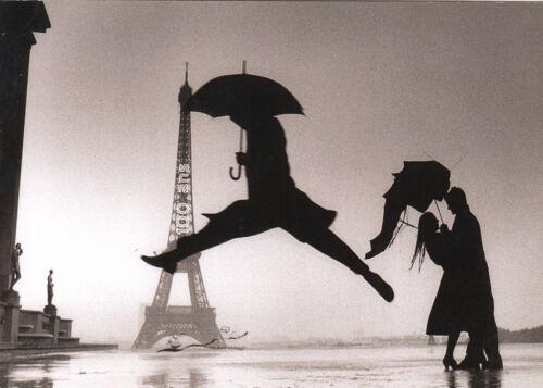 Paris Kunstkarte// Postcard Erwitt 100 Jahre Eiffelturm 1989